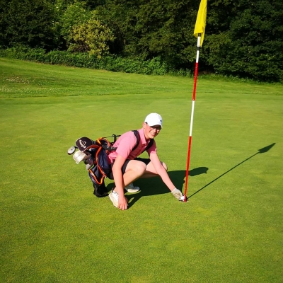Seltenes Hole in One !